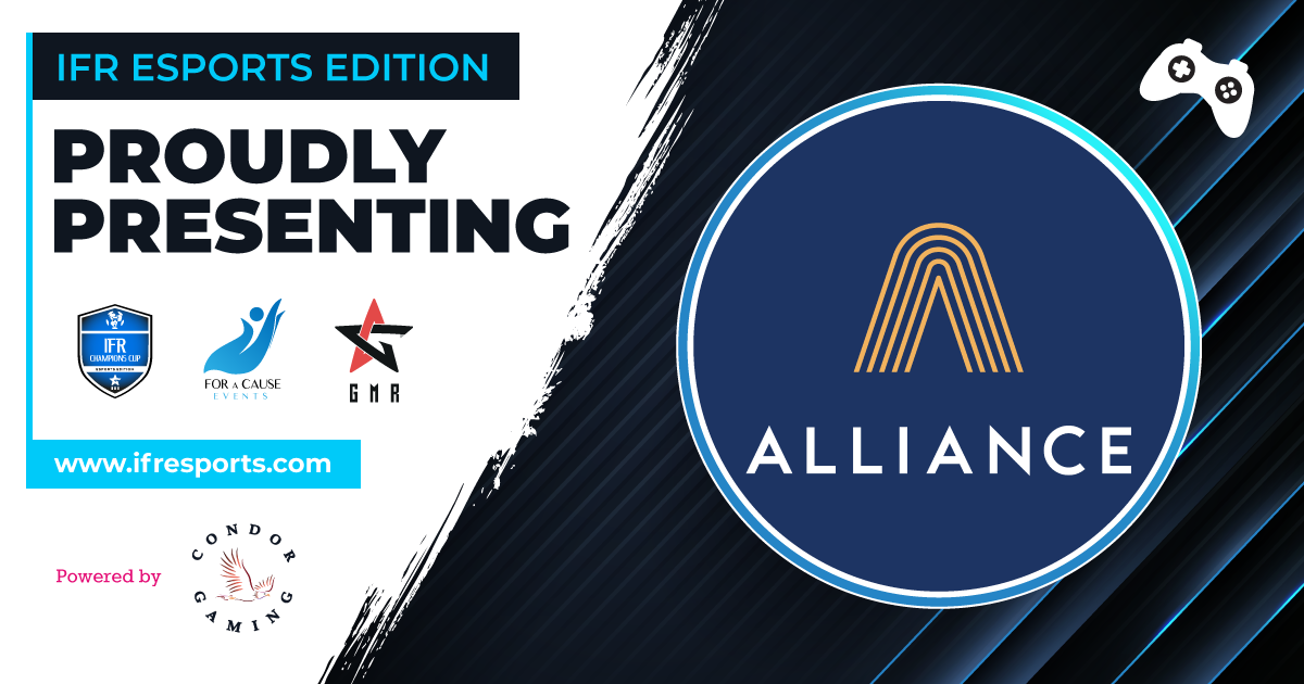 Proudly introducing Alliance as one of the participants of the IFR Esports Edition
