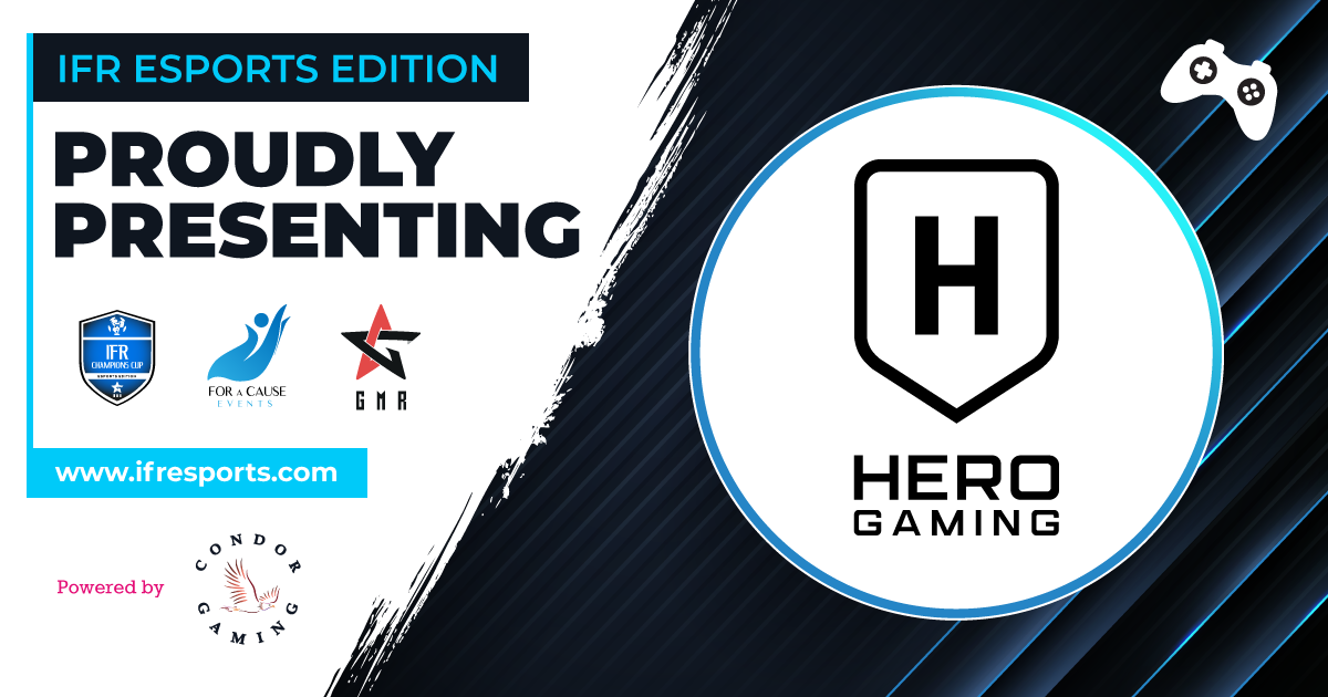 Proudly introducing Hero Gaming as one of the participants of the IFR Esports Edition