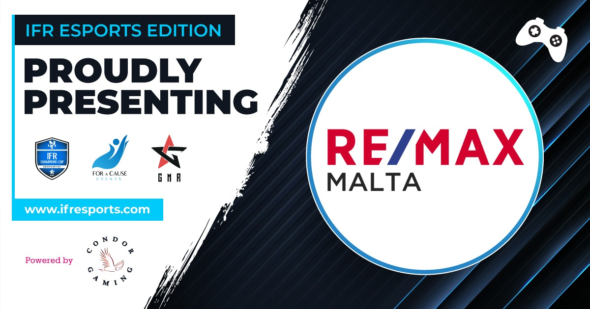 Proudly introducing RE/MAX Malta as one of the participants of the IFR Esports Edition