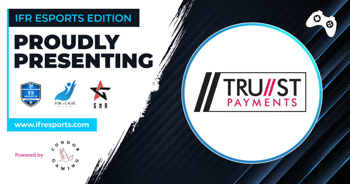Proudly introducing Trust Payments as one of the participants of the IFR Esports Edition