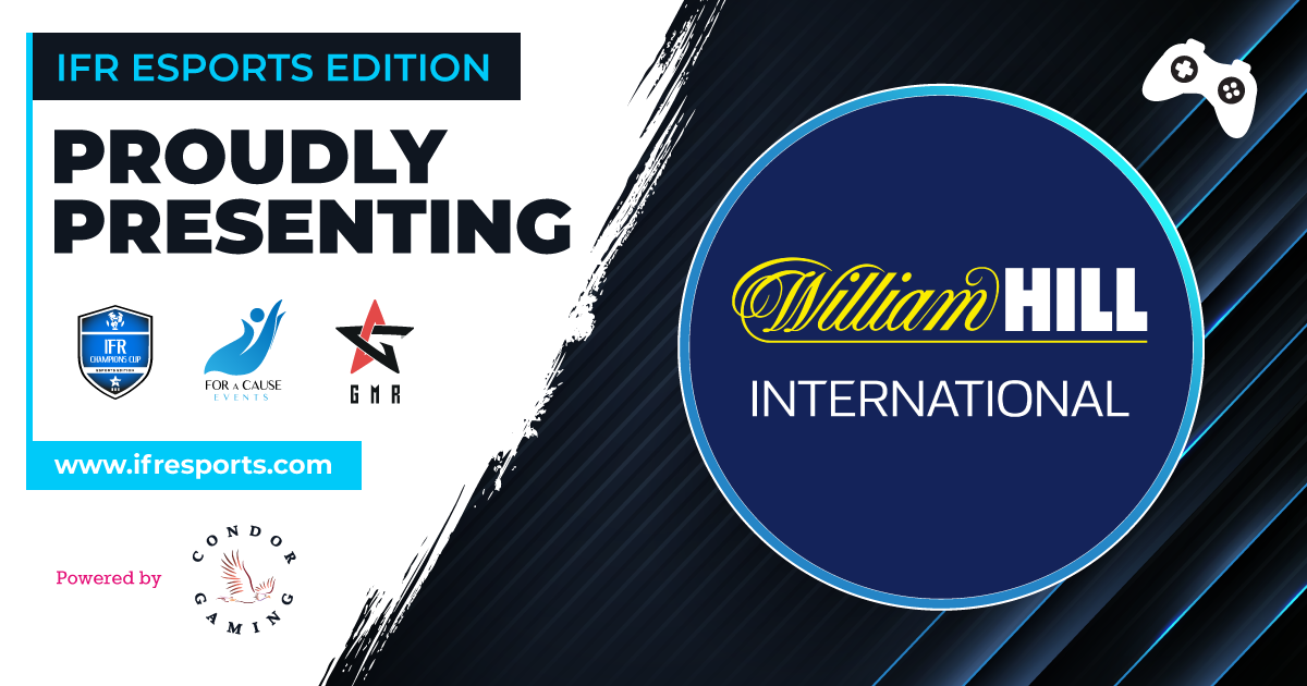 Proudly introducing William Hill as one of the participants of the IFR Esports Edition