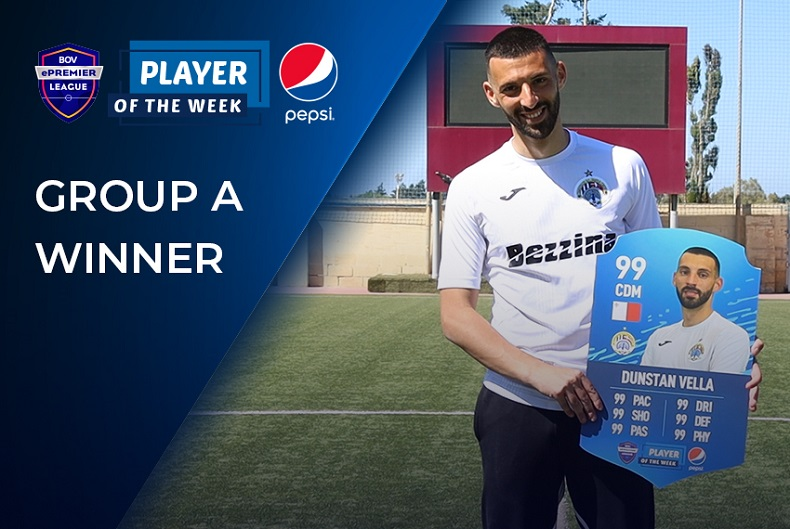 Group A Pepsi Player of the Week - Dunstan Vella
