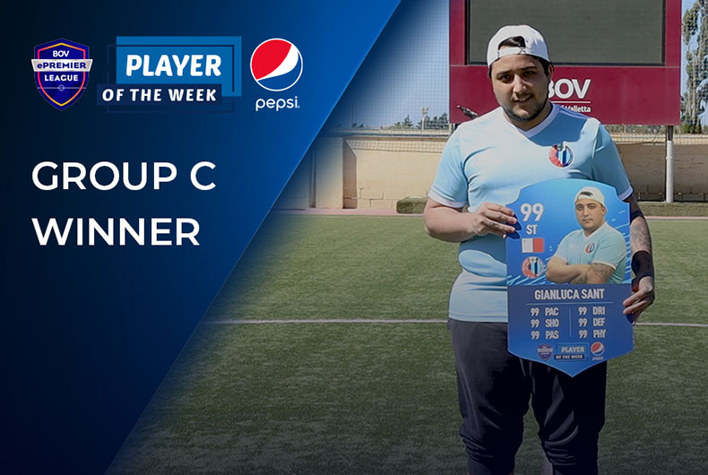 Group C Pepsi Player of the Week - Gianluca Sant